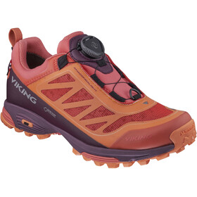 Viking Footwear Anacondalight Boa GTX Shoes Unisex coral/plum
